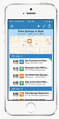 TripIt   Travel Itinerary   Trip Planner