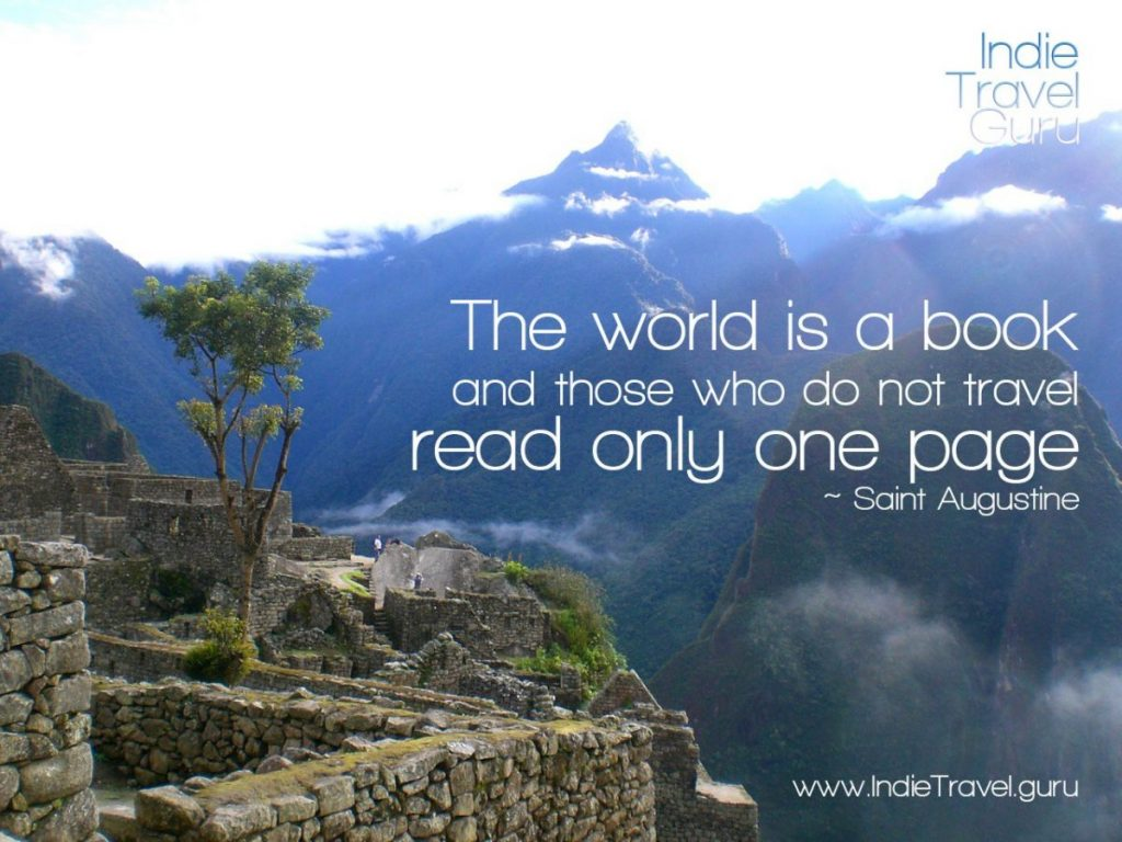 Travel Quote: World is a book
