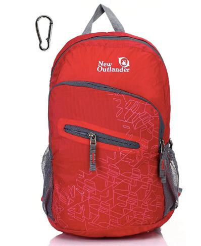 Travel gear: lightweight pack