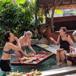 women only travel group floating breakfast