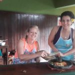 women only travel group cooking