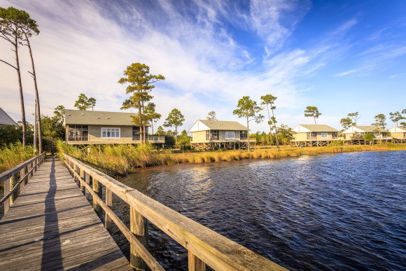 Eagle Cottages is one of the best eco-lodges in the United States