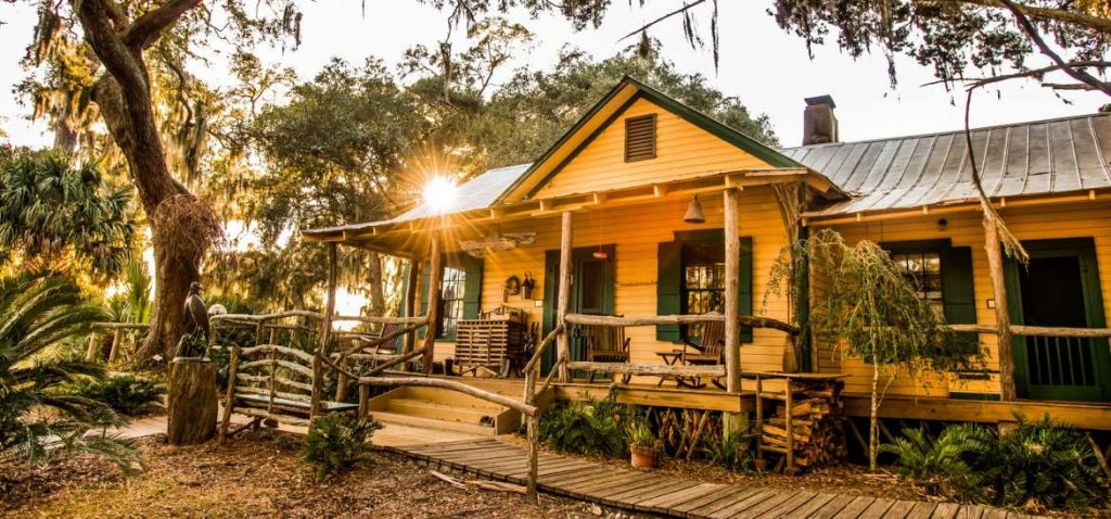 Little Simons Island is one of the best eco-lodges in the United States