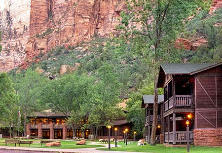 Zion Lodge is one of the best eco-lodges in the United States