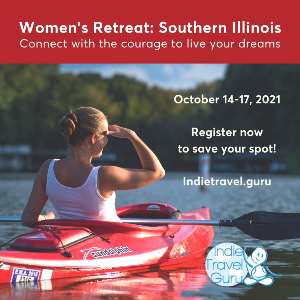Women's Retreat: Southern illinois  * Connect with the courage to live your dreams • Octobr 14-17, 2021
